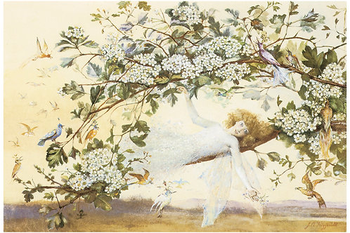 Victorian Fairy Painting No. 038