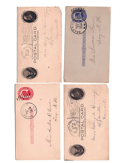 Vintage Postcards - Early 1900's - Set of 8- No. 5543