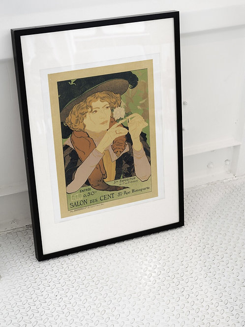 Vintage French Poster Print-Number 7767