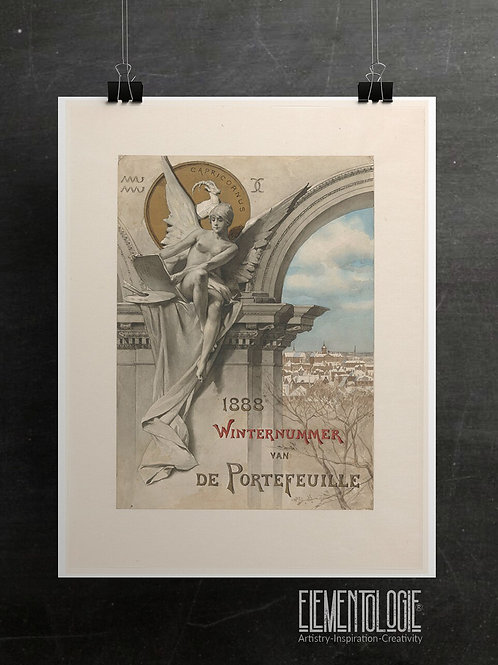 Antique Poster Print-No.99654-Dutch