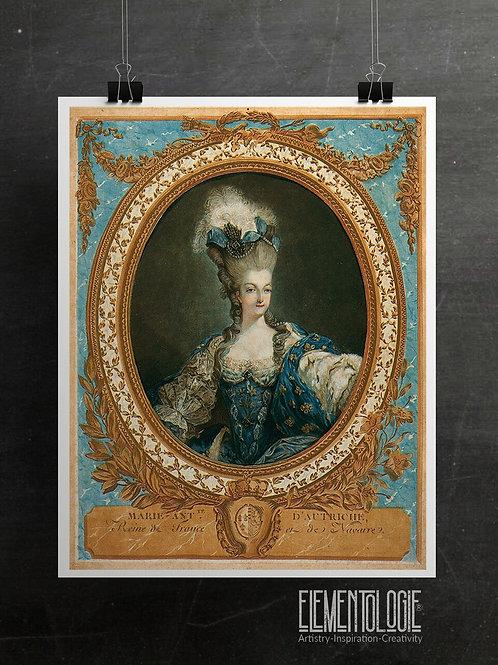 Marie Antoinette Print-No.07