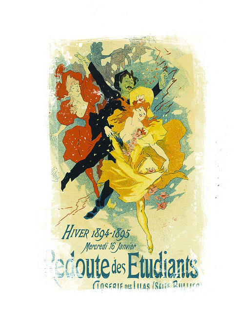 French Poster Print No. 008
