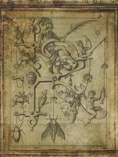 Alphabet Print No. R-998