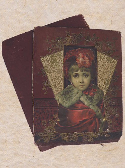 Antique Scrapbbok 1903 Book Covers No.3300