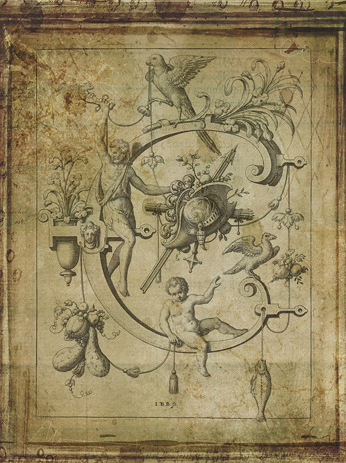 Alphabet Print No. C-998