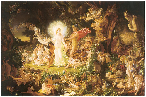 Victorian Fairy Painting No. 016