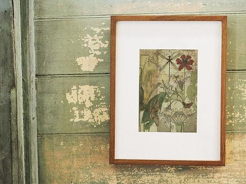 Botanical Collage Print-No.8876