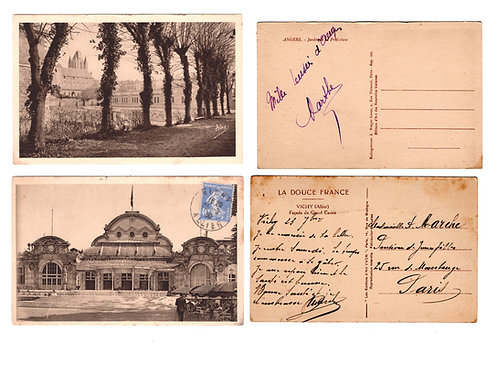 Vintage French Postcards