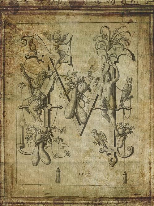 Alphabet Print No. M-998