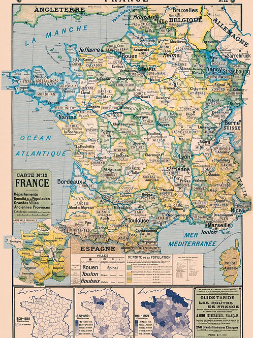 France Map No 12