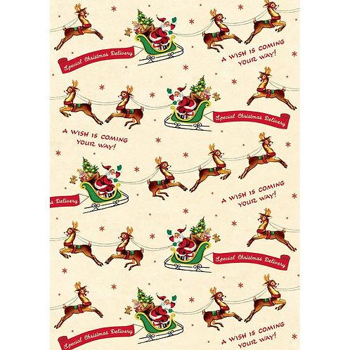 Christmas Santa and Reindeer