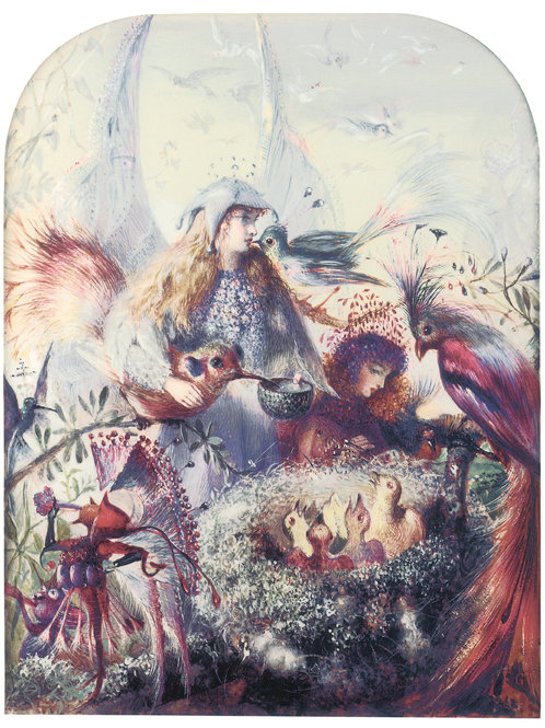 Victorian Fairy Painting No. 039
