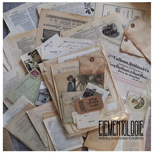 Vintage Ephemera Pack/Bundle- Subscription Box