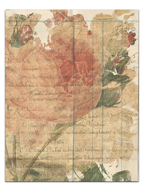 Botanical Background Page Sheet- No 423000-Digital Download