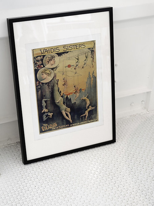 French Circus Print-Number 009