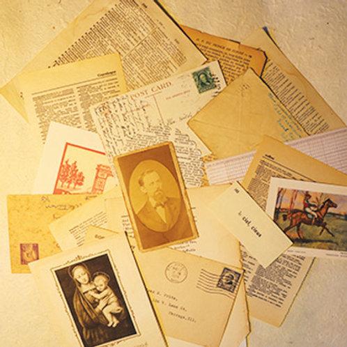 Vintage Ephemera Pack/Bundle No.1192