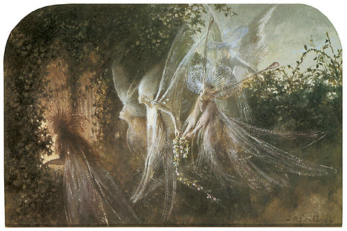 Victorian Fairy Painting No. 053