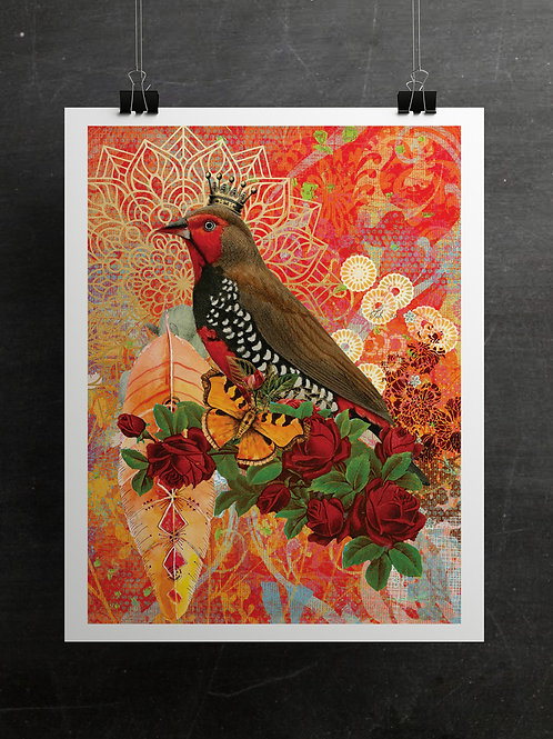 Boho Collection Collage Print-No. 098