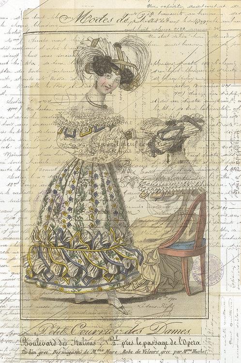 French Print No. 1117B