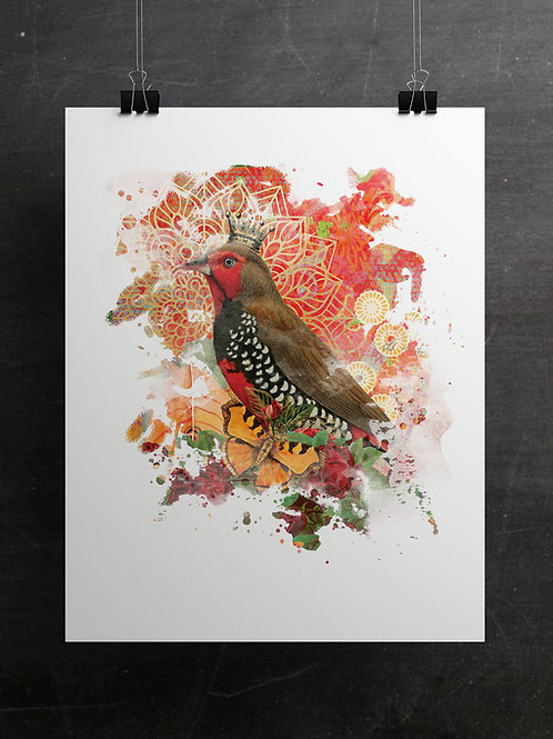 Boho Collection Collage Print-No. 098A