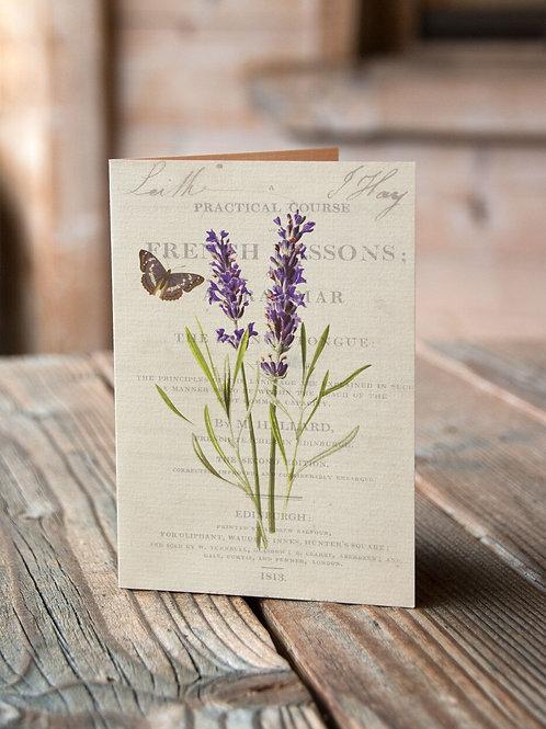 Botanical Print No. 05-Blank Note Card