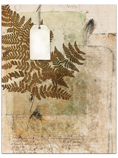 Botanical Background Page Sheet- No 423014-Digital Download