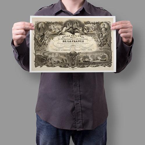 Antique Engraving Print-No.998