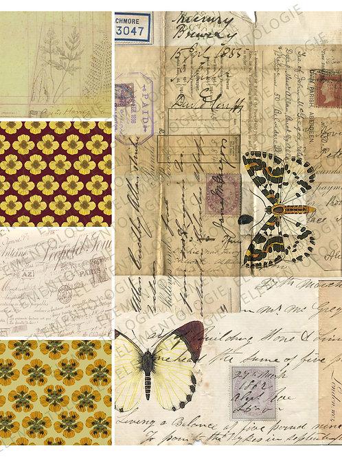 Printable Collage Sheet No 003
