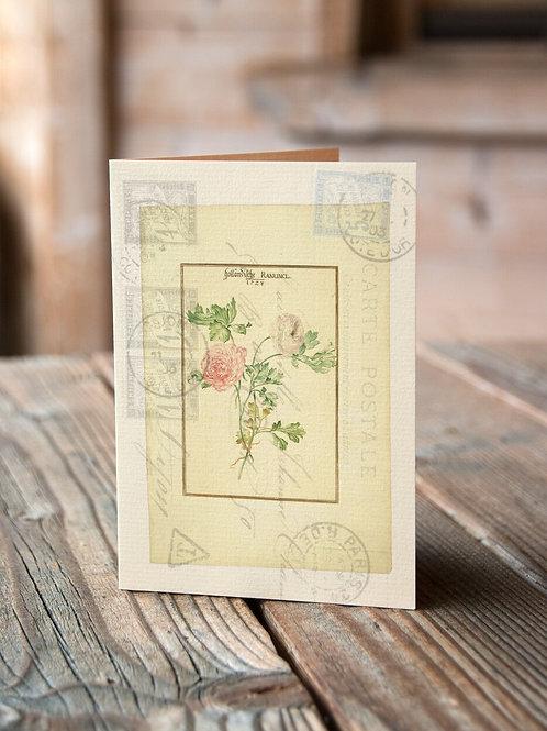 Botanical Print No. 1013-Blank Note Card