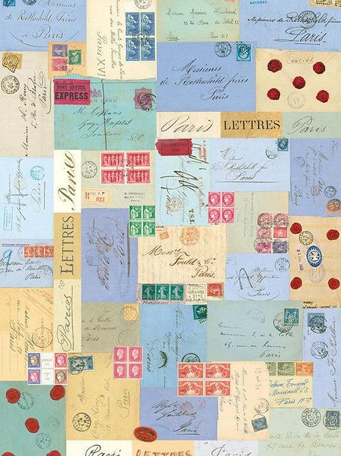 Vintage Paris Letters