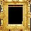 Thumbnail: 5 Gold Frames Embellishments- No 44005-Digital Download