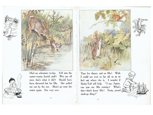 Vintage Book Page No. 0012