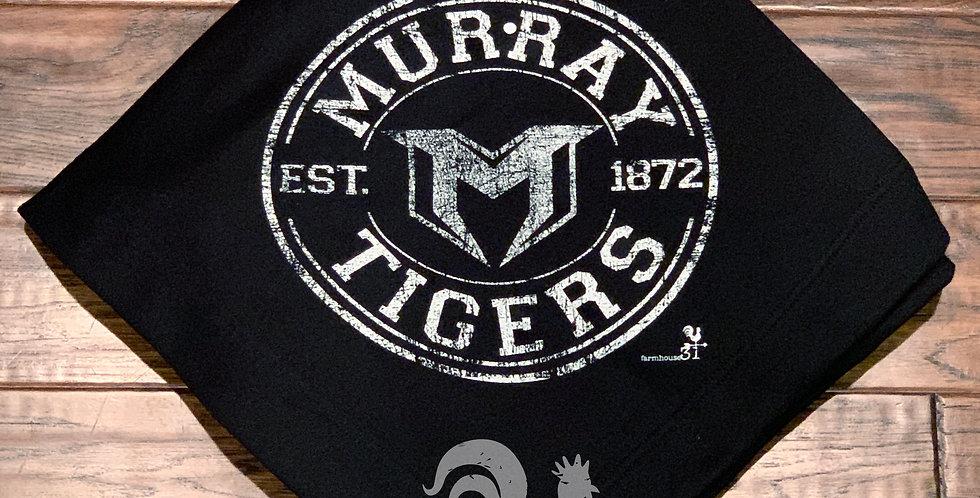 Murray Tigers sweatshirt blanket
