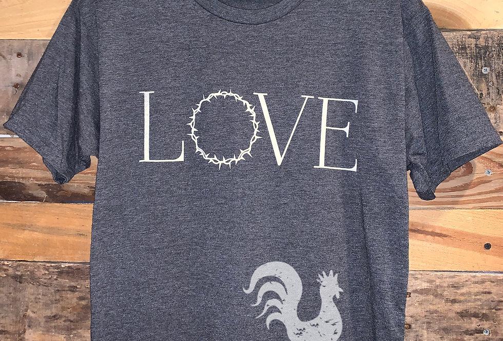 LOVE long-bodied tee