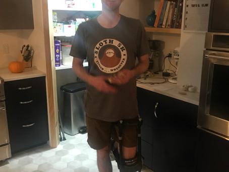 Baker Blake and his Pirate Leg