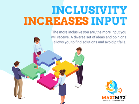 Increase Your Input with Inclusion