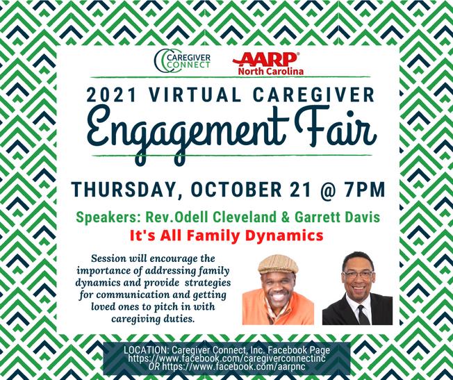 2021 Virtual Caregiver Engagement Fair
