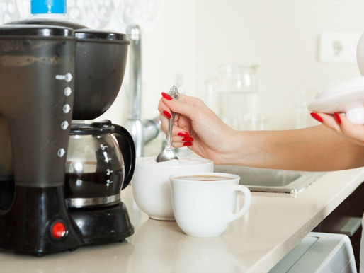Clean Out Your Coffee Maker With Some Vinegar