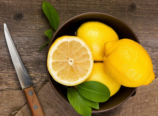Freshen Your Garbage Disposal With Some Lemons