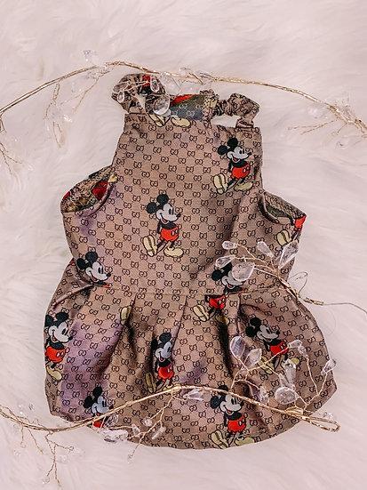 Golden Mouse Dress