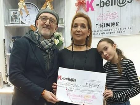 K-Bell@s dona 900€ a Esperanza y Sonrisa