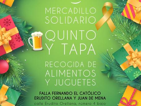 Mercadillo Solidario, Quinto y Tapa