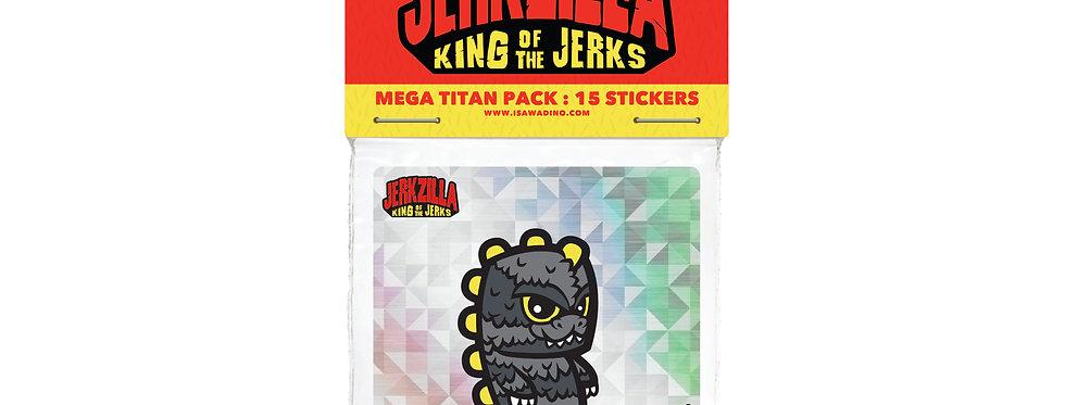 Mega Titan Sticker Pack