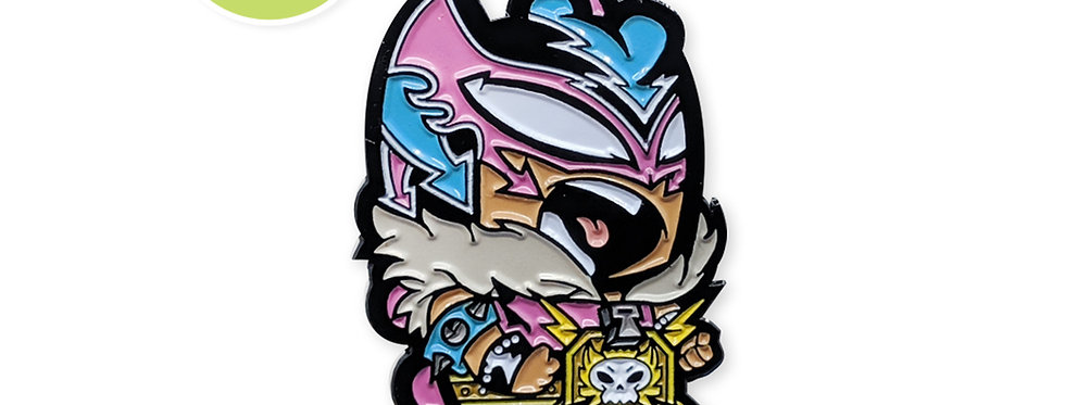 Angry Rooster Studios Collab: Chingonosaurus Rosado