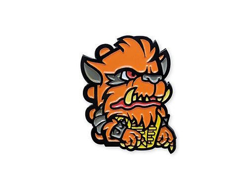 Warrior Pins Collab: Rahzar