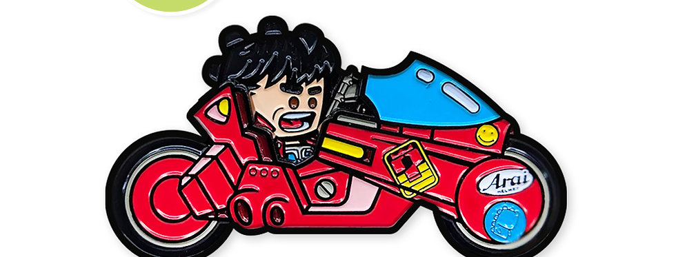 MikeDie Collab: Kaneda & Bike
