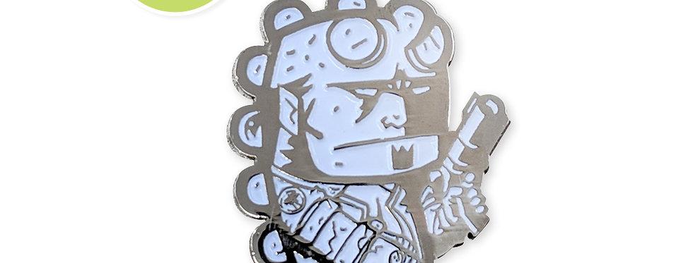 Quarter Press Collab: Hellboy B&W