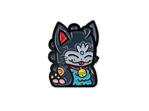 Black Fortune Dino Cat