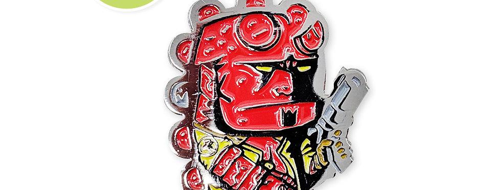 Quarter Press Collab: Hellboy Color
