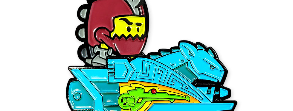 MikeDie Collab: Trap Jaw Neon